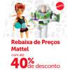 Brinquedos Mattel com até 40% de desconto na Ri Happy