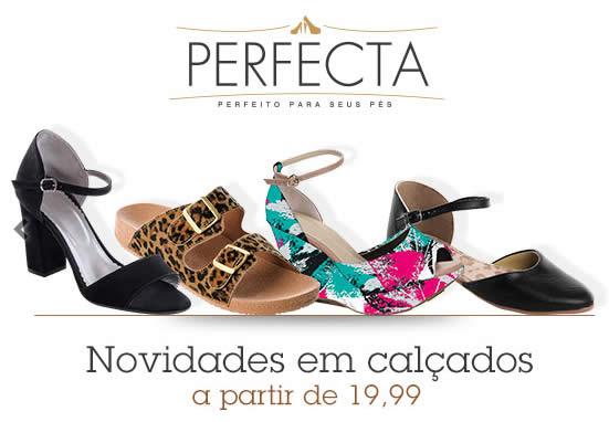 Posthaus: Calçados Perfecta a partir de R$ 19,99