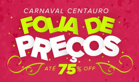 Carnaval Centauro: Ofertas com até 75% de desconto