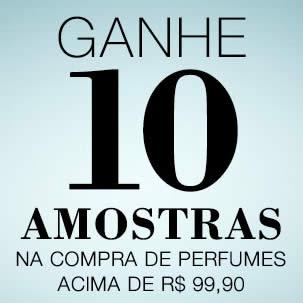 Renner: Ganhe 10 amostras nas compras acima de R$ 99,90 em perfumes