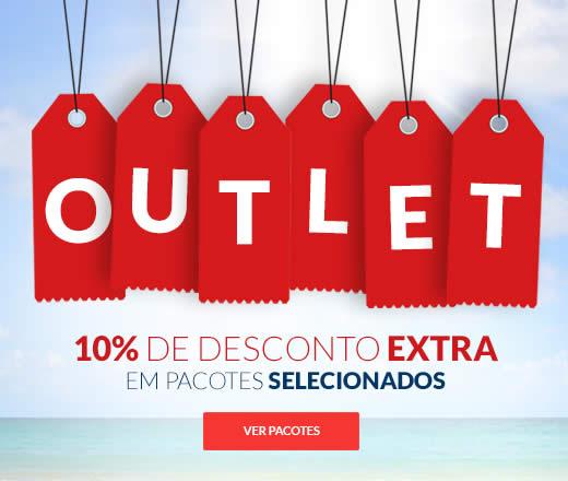 Outlet Hotel Urbano com 10% de desconto extra