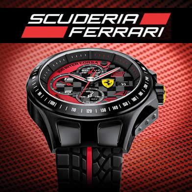 Relógios Ferrari a partir de R$ 290 na Vivara