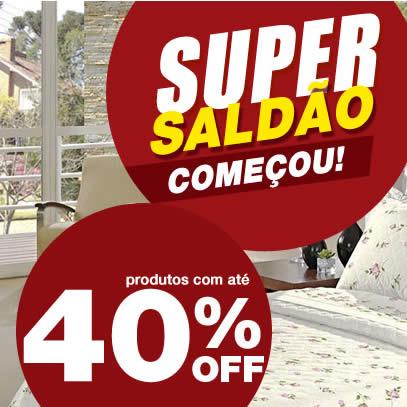 Ecolchao: Super Saldão com até 40% de desconto + cupom de 7%