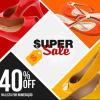 Super Sale: Calçados com 40% de desconto na Cipela