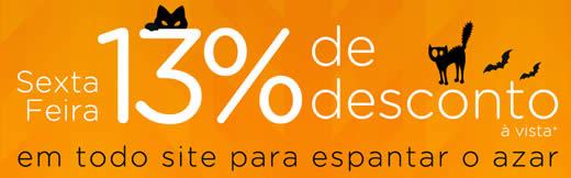 Magazine Luiza: 13% de desconto nas compras à vista