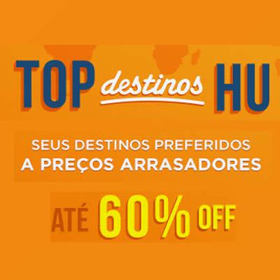 Top Destinos com até 60% de desconto no Hotel Urbano