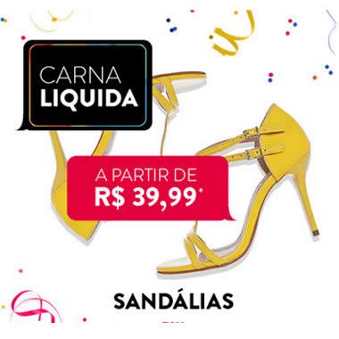 Carnaliquida Dafiti: Sandálias a partir de R$ 39,99