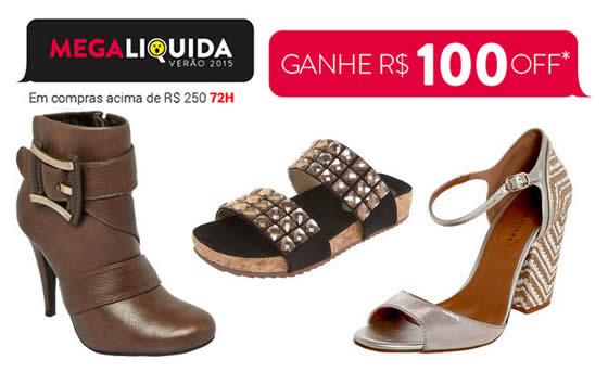 Dafiti: Cupom de R$ 100 em calçados femininos