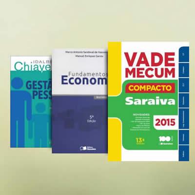Saraiva: Livros universitários com descontos progressivos