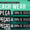 Passarela: Descontos progressivos em moda praia