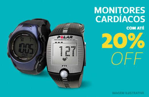Netshoes: Monitores cardíacos com até 20% de desconto