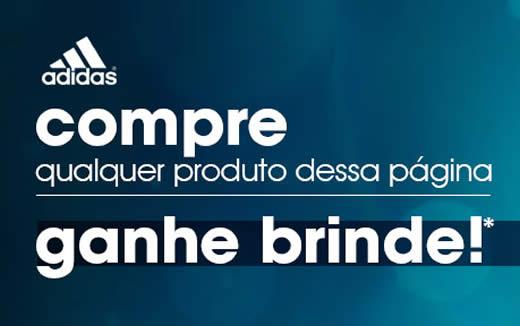 Passarela: Compre acima de R$ 99 em itens Adidas e ganhe um brinde