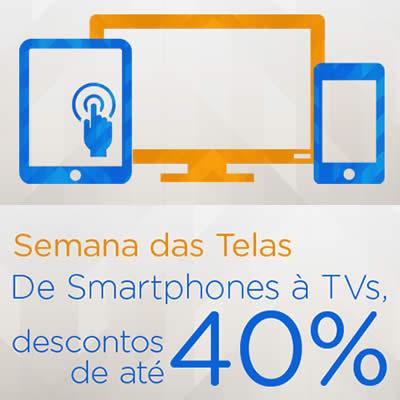 De Smartpnohes à TVs: Até 40% de desconto no Magazine Luiza