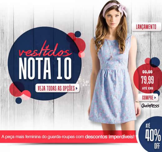 Vestidos Nota 10: Modelos com até 40% de desconto na Posthaus