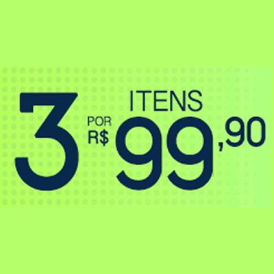 FutFanatics: 3 itens por R$ 99,90