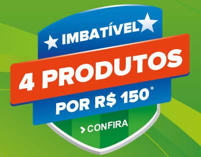 4 produtos por R$ 150 na Dafiti Sports