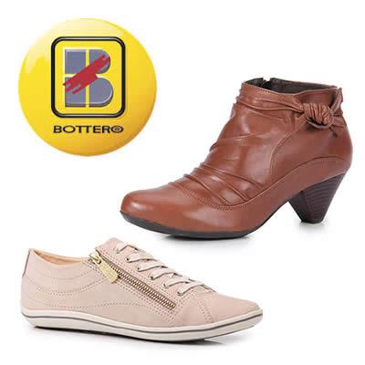 Calçados Bottero com até 50% de desconto na Passarela
