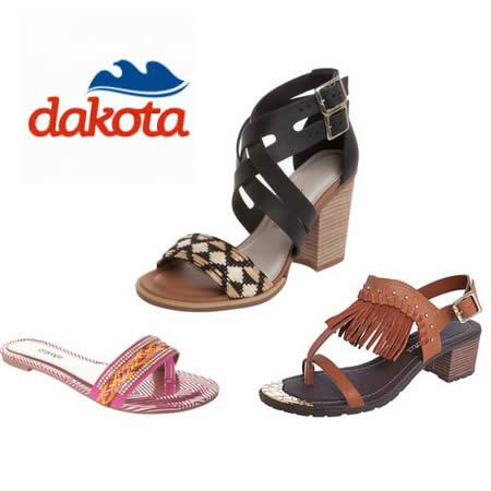Calçados Dakota a partir de 30% de desconto