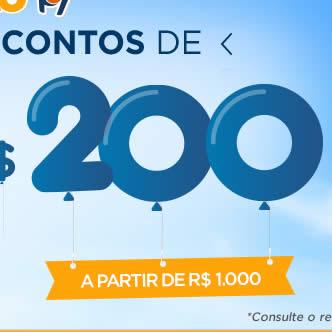 Hotel Urbano: Descontos de R$ 100 ou R$ 200 em todo* o site