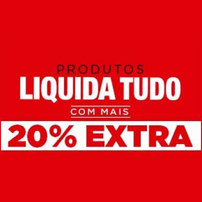 Passarela: Liquida Tudo com 20% de desconto extra
