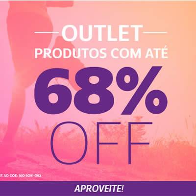 Netshoes: Outlet com até 68% de desconto