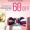 Perfumes com até 60% de desconto na Sephora