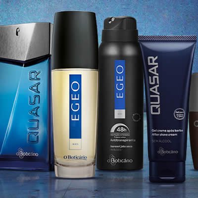 Perfumes masculinos c/até 20% de desconto em O Boticário