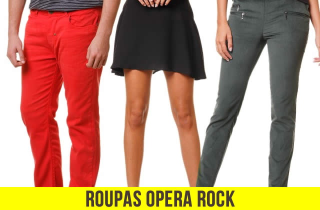 Roupas Opera Rock c/até 50% de desconto Q!Bazar