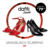 Sandálias e Scarpins Dafiti Collection a partir de R$ 79,90