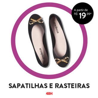Sapatilhas e rasteiras a partir de R$ 19,99 na Dafiti