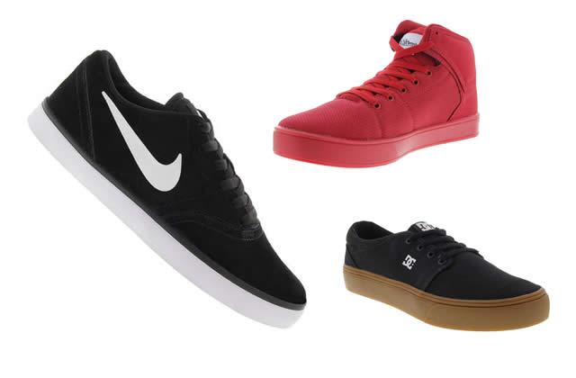 Calçados de Skates com até 35% de desconto na Centauro