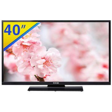 TV LED 40 CCE Full HD com Conversor Digital Integrado, Tela Widescreen, Sistema Anti Reflexo, Função Gravar, Conexão HDMI e USB - LV40G