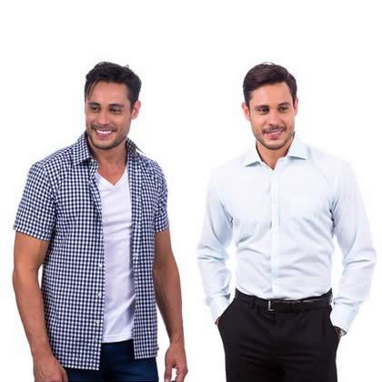 Camisaria Colombo: Camisas a partir de R$ 29,90