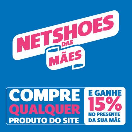 Netshoes: Ganhe 15% de desconto no presente do Dia das Mães