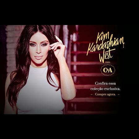 Coleção Kim Kardashian West na C&A