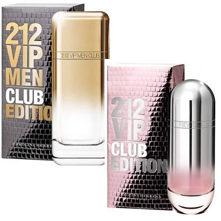 Linha de perfumes 212 Vip Club Editon no Magazine Luiza