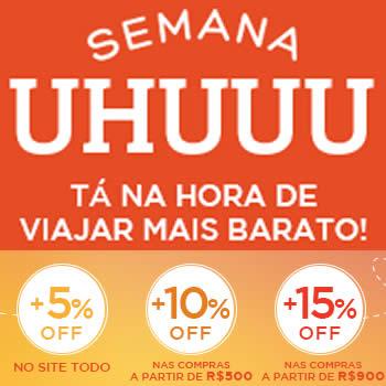 Semana Uhuuu Hotel Urbano - Até 15% de desconto