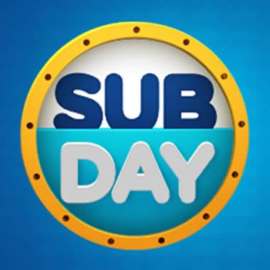 Começou o SubDay Submarino! Até 60% de desconto