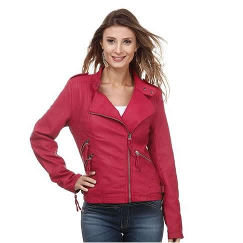 Jaquetas femininas c/até 55% de desconto na Marisa