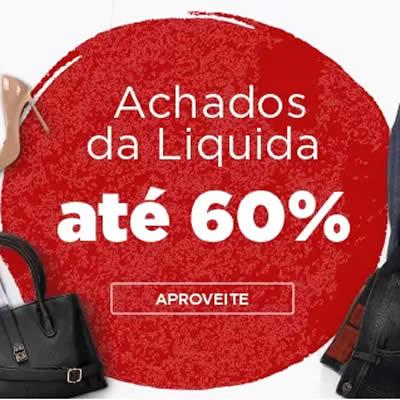 Achados da Liquida c/até 60% de desconto na Zattini