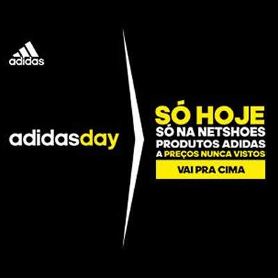 Só hoje! Adidas Day na Netshoes