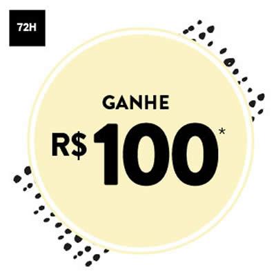 72h: Ganhe R$ 100 de desconto na Dafiti