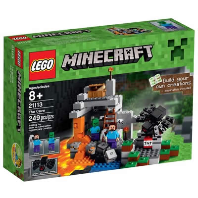 Seleção de brinquedos Minecraft na Ri Happy