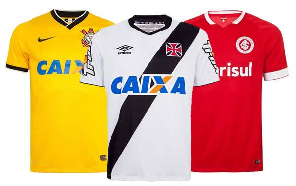 Camisas de futebol c/até 50% de desconto