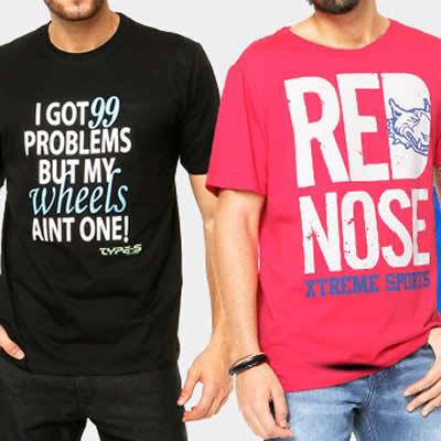 Camisetas por até R$ 29,99 na Dafiti Sports
