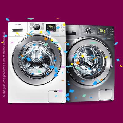 Lavadoras de roupas com 20% de desconto no Magazine Luiza