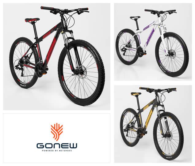 Bicicletas Gonew c/até 38% de desconto