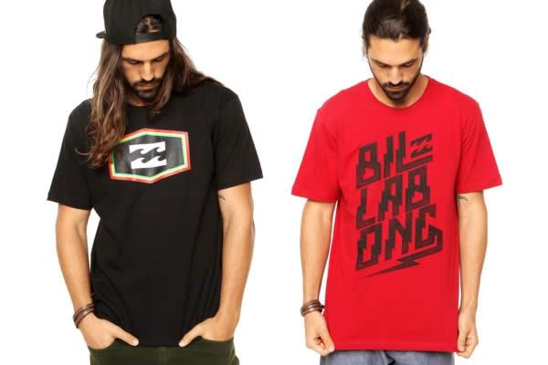 Camisetas Billabong c/até 50% de desconto na Dafiti Sports
