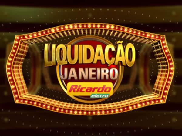 Liquidação de Janeiro Ricardo Eletro c/até 70% de desconto