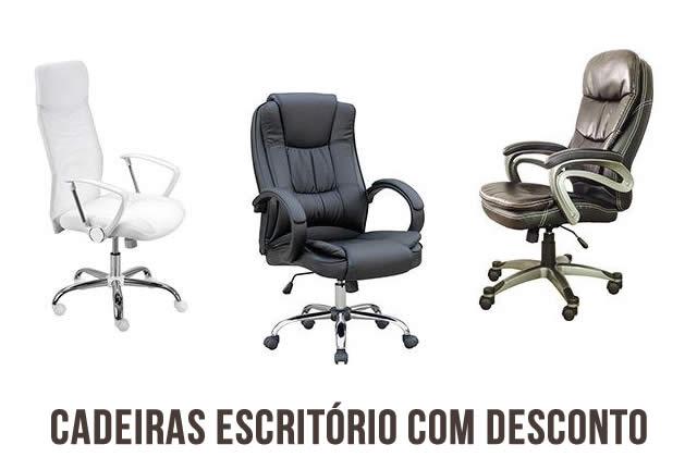 Cadeiras de escritório c/até 40% de desconto na Americanas